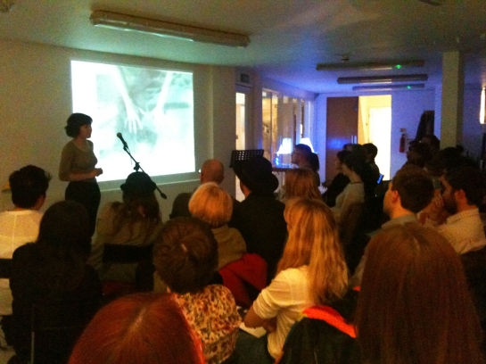Image of Emma Bennett performing at POLYply 23